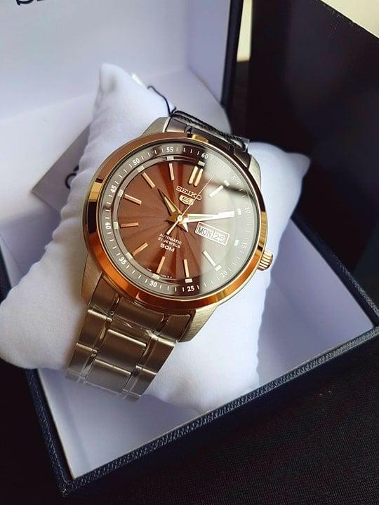 Đồng hồ Seiko dây demi SNKM90K1 cho nam 1