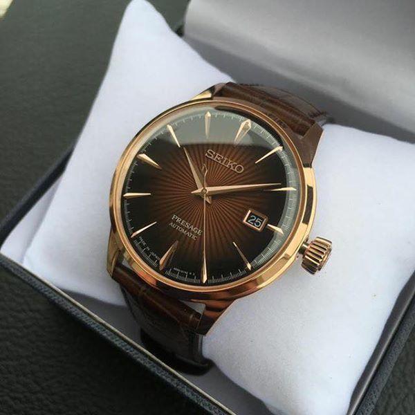 Case đồng hồ 40.5mm dễ đeo, phù hợp với hầu hết cổ tay của nam giới