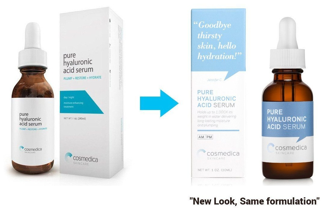Serum làm chậm lão hóa COSMEDICA hyaluronic acid 60ML