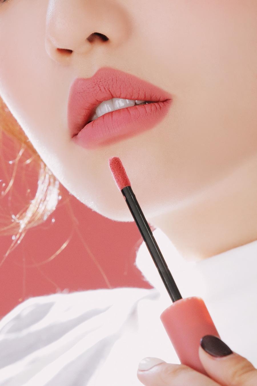 Son kem lì 3CE Velvet Lip Tint sắc hồng đất nhẹ nhàng