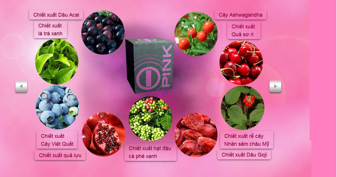 Thành phần chiết xuất của Bhip Pink