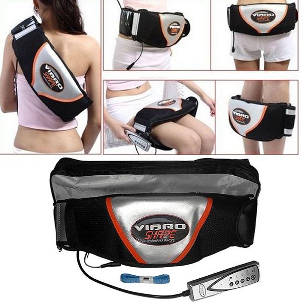 Đai massage Vibro giúp đánh tan mỡ thừa ở các vùng bụng, mông, đùi, vai..