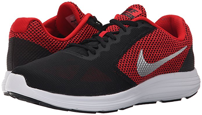 Giày thể thao nam NIKE Revolution 3 Red/Black/White/Silver 7