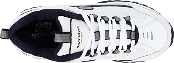 Giày thể thao nam Skechers Energy Afterburn White/Navy 5