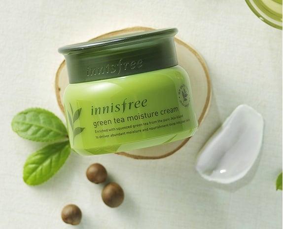 Kem dưỡng ẩm Innisfree Green Tea Moisture Cream cho da khô