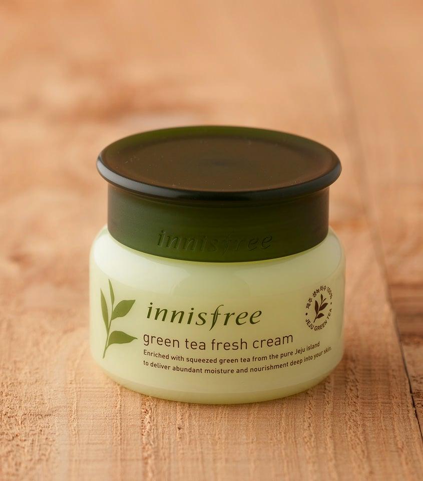Kem dưỡng ẩm Innisfree Green Tea Fresh Cream dành cho da dầu
