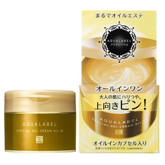 Kem dưỡng da Shiseido Aqualabel Special Gel Cream Oil in mẫu mới 2017