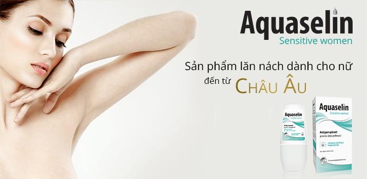 Công dụng của Lăn khử mùi Aquaselin Sensitive Women