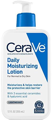 Lotion dưỡng ẩm CeraVe Daily Moisturizing cho da thường đển da khô