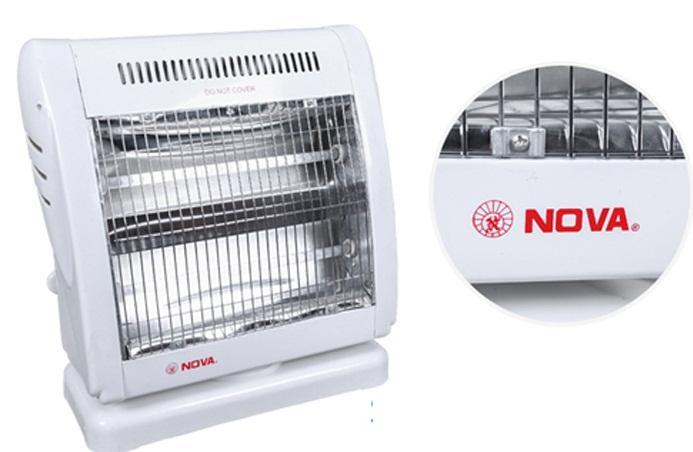 Quạt sưởi ấm Nova FG 10A được cấu tạo chân vuông vững chắc