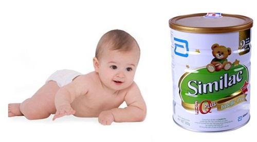 Sữa Similac của Mỹ có giúp bé tăng cân nhiều không?
