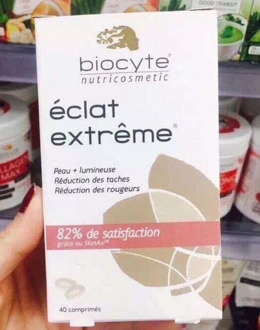 Viên uống Biocyte Eclat Extreme trắng da, mờ thâm nám