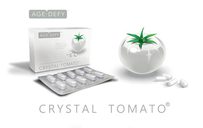 Viên uống trắng da toàn thân Crystal Tomato