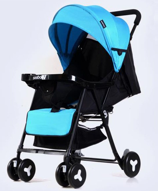 Với thiết kế thông minh, điều chỉnh 3 tư thế xe đẩy Seebaby QQ3 mang lại cảm giác thoải mái cho bé từ só sinh đến 3 tuổi