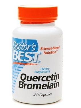Doctor's Best Quercetin Bromelain hỗ trợ trị bệnh gout,