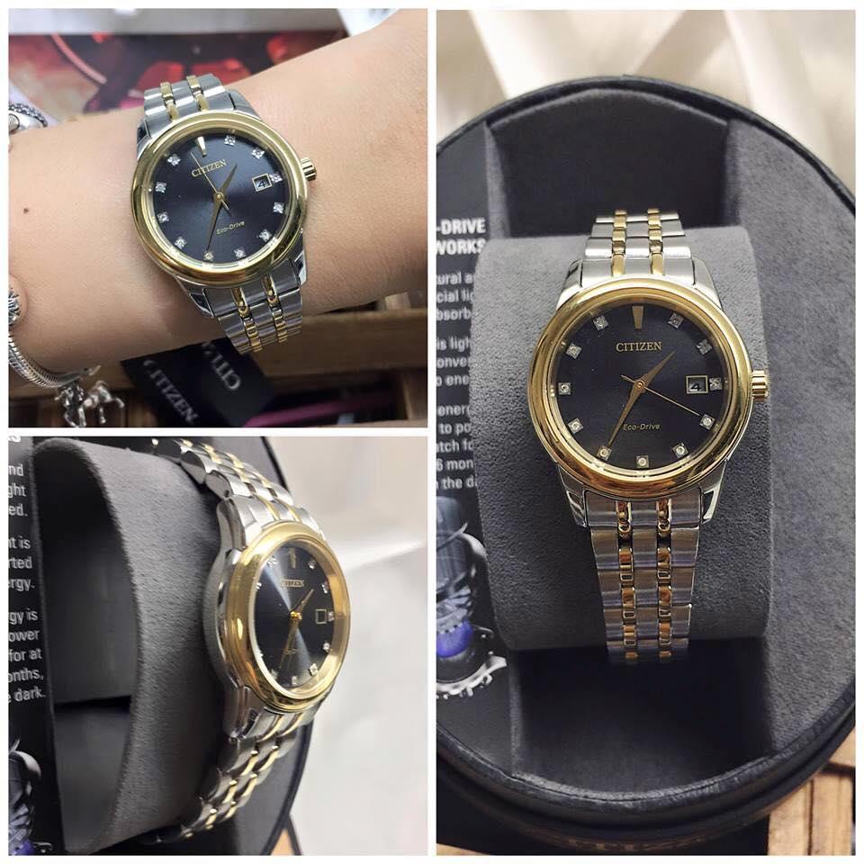 Đồng hồ Citizen nữ EW2394-59E thanh lịch 4