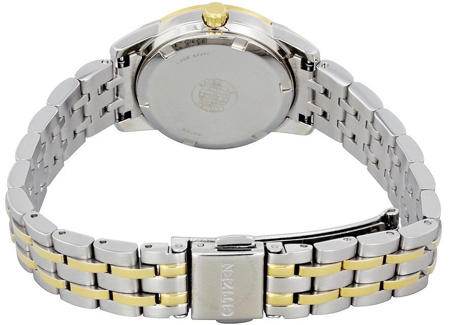 Dây đồng hồ demi với 2 màu vàng - bạc thanh lịch