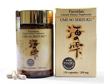 Fucoidan Umi No Shizuku Nhật Bản Hỗ Trợ Điều Trị Ung Thư