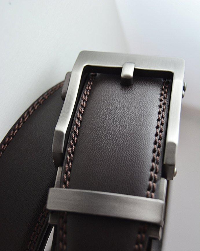 Thắt lưng nam Viniciobelt Holeless Leather Ratchet Click 2