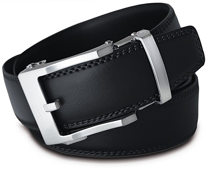 Thắt lưng nam Viniciobelt Holeless Leather Ratchet Click 1