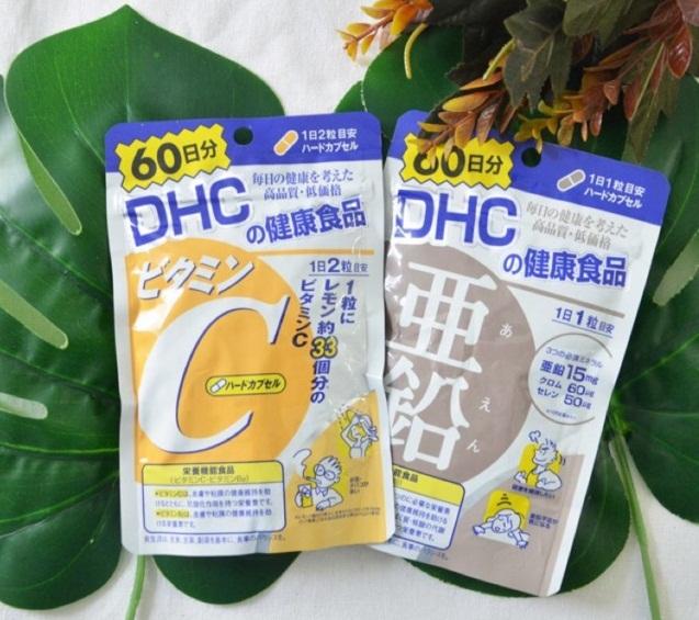 Viên Uống Bổ Sung Vitamin C DHC Nhật Bản 120 Viên
