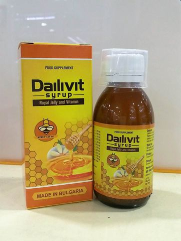 Dailivit - Bổ sung vitamin và tăng sức đề kháng cho trẻ