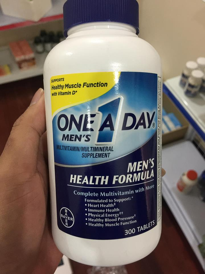 One A Day Men's Multivitamin Health Formula 1