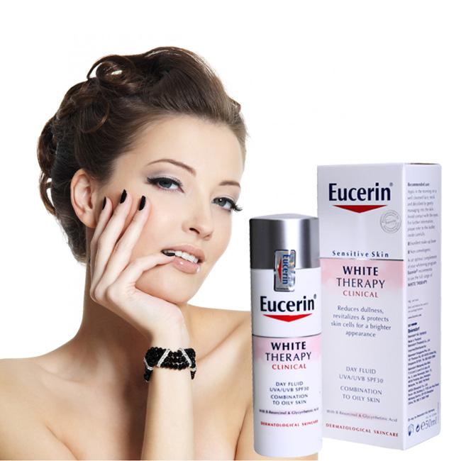 Kem Eucerin White Therapy SPF30 dưỡng trắng ban ngày