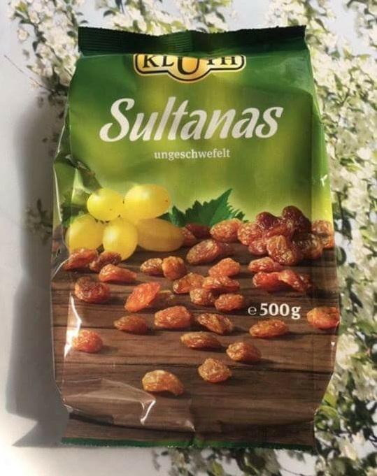 Nho Khô Kluth Sultanas 500g của Đức