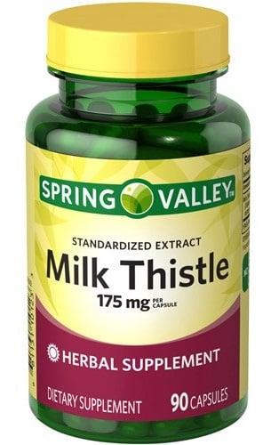 Viên Bổ Gan Spring Valley Milk Thistle 175mg của Mỹ