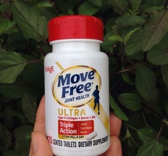 Viên bổ khớp Schiff Move Free Ultra Triple Action giúp giảm đau xương khớp cực nhanh