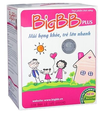 BigBB Plus Hồng mũi họng khỏe, tăng đề kháng