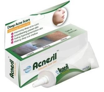 Gel hỗ trợ trị sẹo do mụn Acnesil Thái Lan 10g