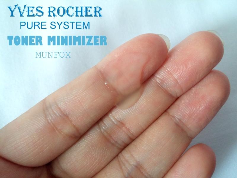 Nước Hoa Hồng Cho Da Mụn Yves Rocher Pure System Clarifying Toner 150ml