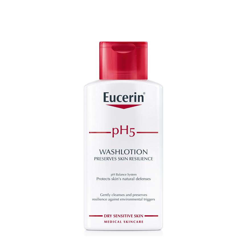 Image result for Sữa tắm Eucerin pH5 Washlotion