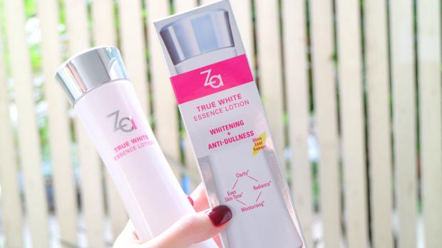 Tinh chất dưỡng trắng làm đều màu da 3in1 Za True White EX Essence Lotion 2
