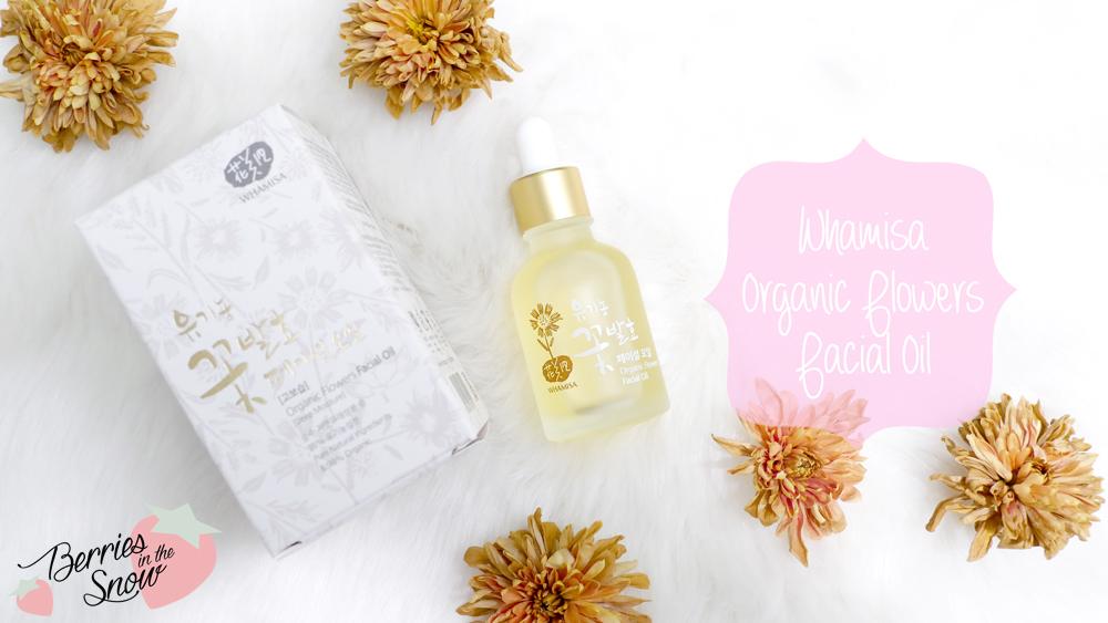 Tinh dầu dưỡng ẩm Whamisa Organic Flowers Facial Oil