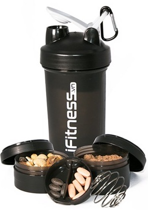Bình lắc iFitness Pro Shaker 4 in 1 cao cấp 5