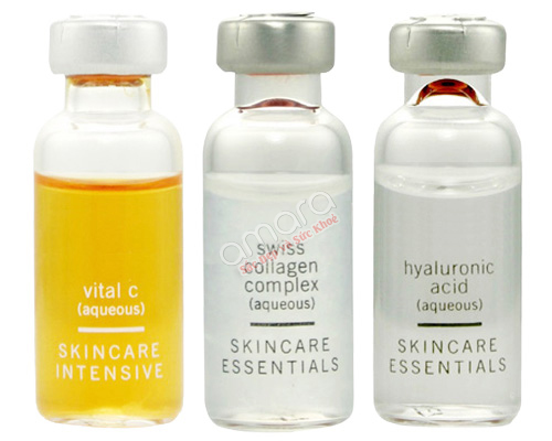 Bộ serum trắng da Vital C,Swiss Collagen,Hyaluronic acid 2
