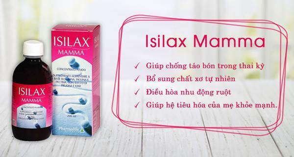 Thực phẩm bổ sung Isilax Mamma chống táo bón thai kì 2