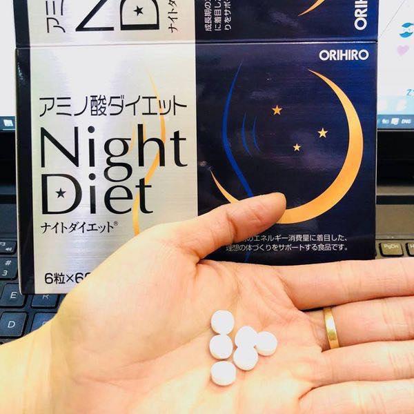 Viên giảm cân Night Diet Orihiro thúc đẩy giải phóng năng lượng tối đa trong mỗi lúc vận động, tập luyện