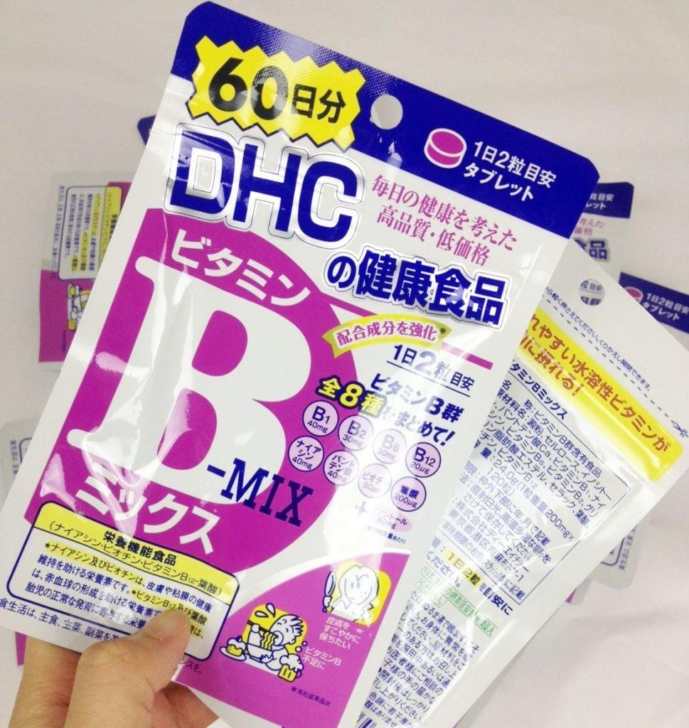 Viên uống DHC bổ sung vitamin B -  mix 2