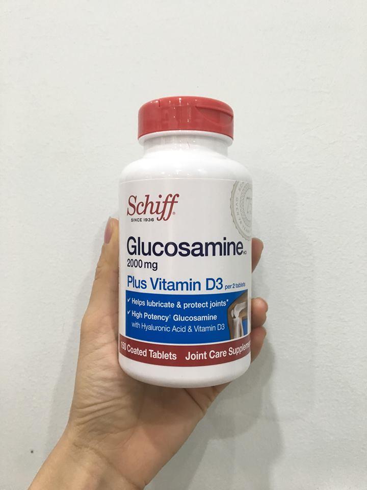Viên bổ xương khớp Glucosamine 2000mg plus vitamin d3 Schiff 150 viên 2