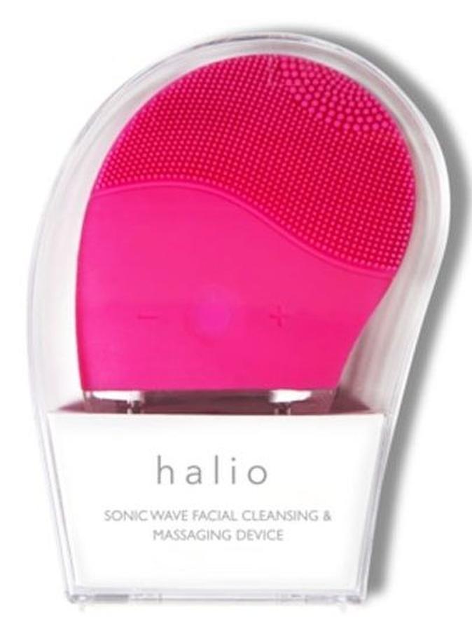 Máy rửa mặt Halio màu hồng đậm