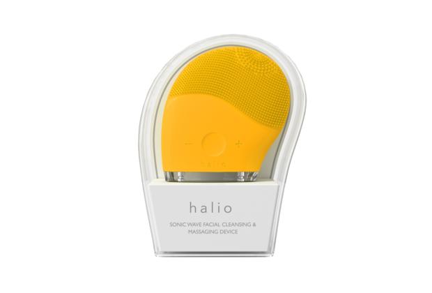 Máy rửa mặt Halio màu vàng