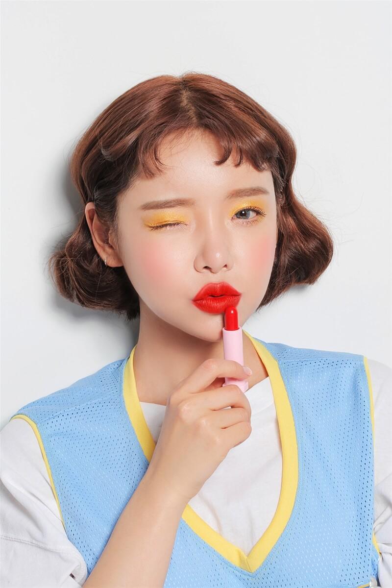 Son lì siêu kute Love 3CE Velvet Lip Stick 7