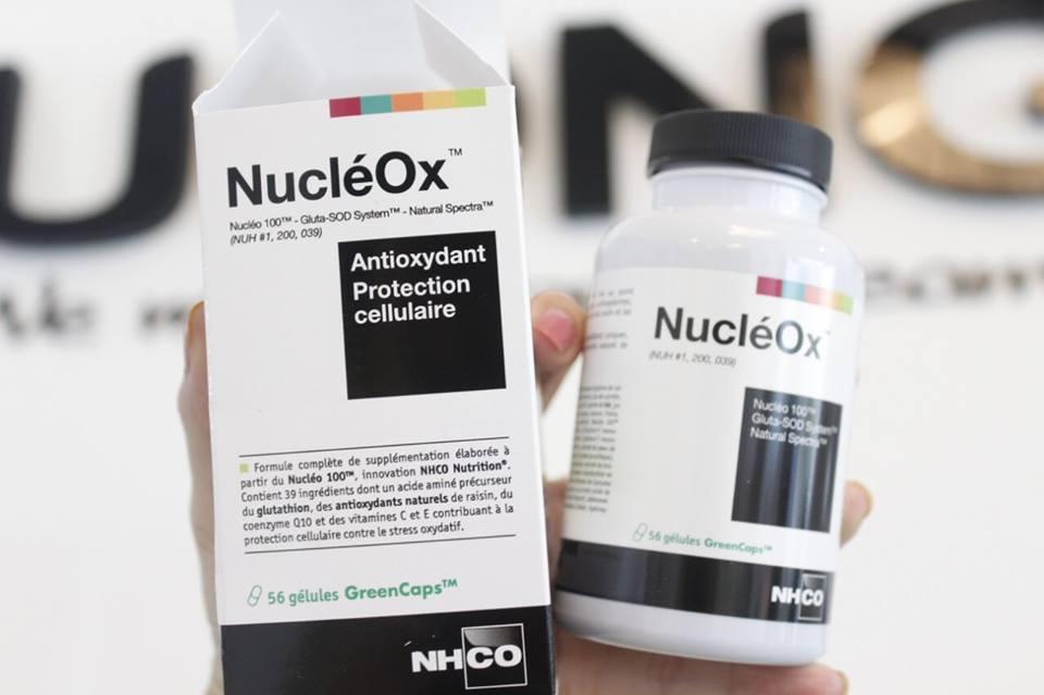 Viên thần dưỡng da chống oxy hóa , bảo vệ tế bào Nucleox 1