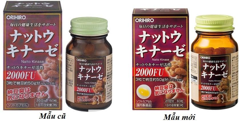 Viên uống hỗ trợ điều trị tai biến biến Nattokinase 2000FU Orihiro Nhật Bản