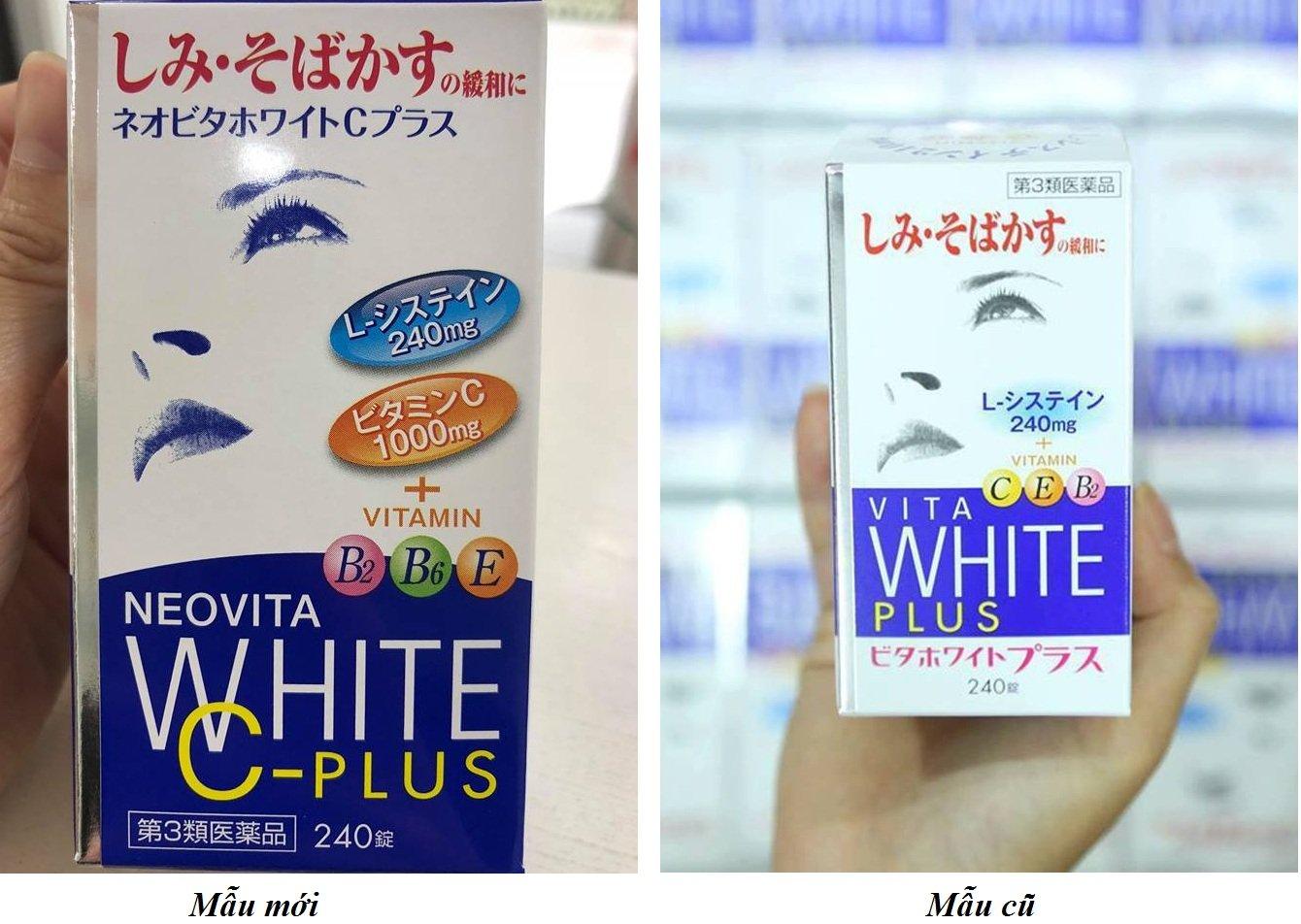 Vita White Plus của Nhật - Viên uống trắng da, hỗ trợ trị nám và tàn nhang hiệu quả 1