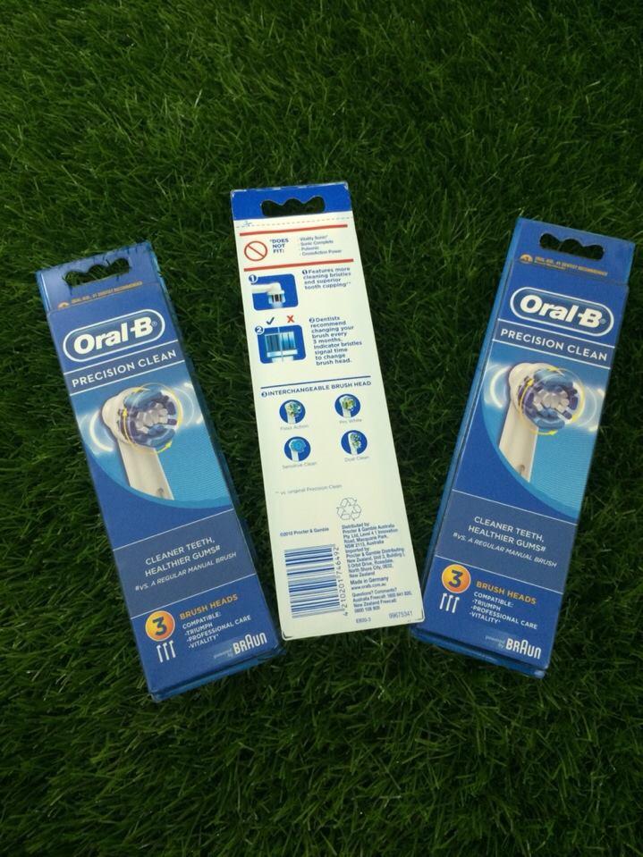 Set đầu bàn chải điện Oral-B Precision Clean
